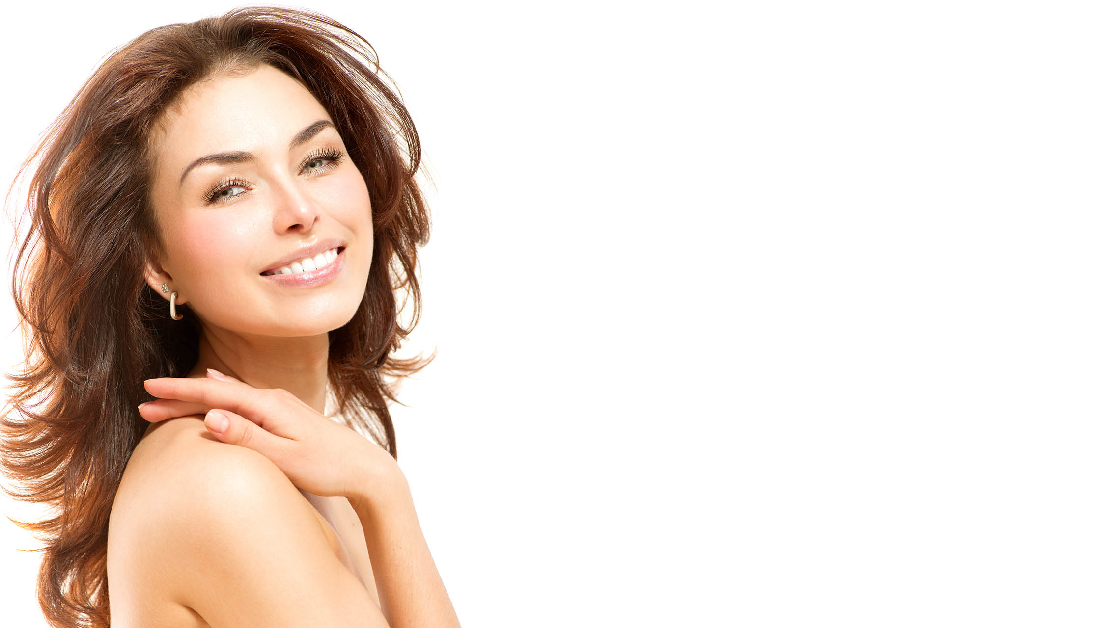 Radiant young woman at Velum Skin and Laser Center